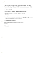 Innkalling Ekstraordinaer Generalforsamling 1998