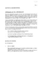 Legging av tak – Informasjon 1992
