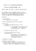 Referat Generalforsamling 1995