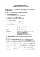 Referat Generalforsamling 1999