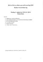 Referat ekstraordinær generalforsamling 2019